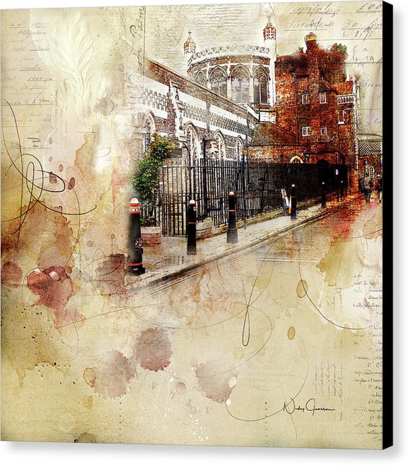 St Bartholomews Church - Canvas Print