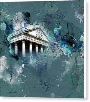 St Martins-In-The-Fields-Chvrch - Canvas Print