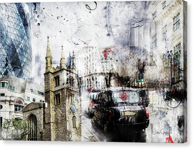St Mary Axe - Canvas Print