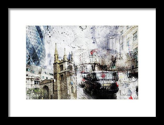 london wall art, artwork by Nicky Jameson
