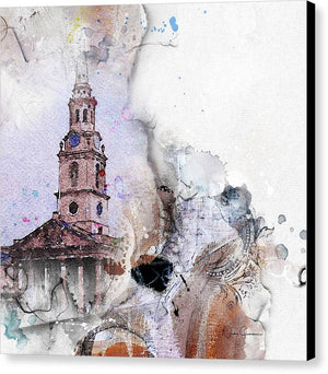 Steeple CHVRCH - St Martin's in the Field - Canvas Print