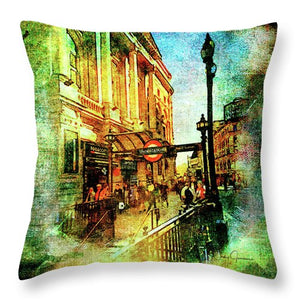 Subway - Throw Pillow