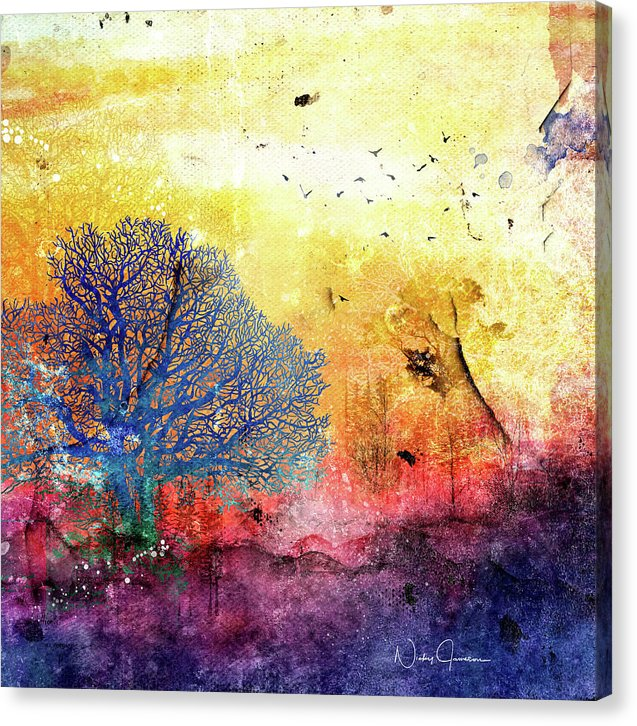 Sunrise Landscape - Canvas Print
