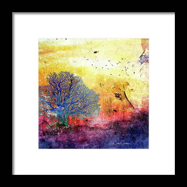 Sunrise Landscape - Framed Print