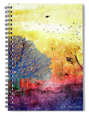 Sunrise Landscape - Spiral Notebook