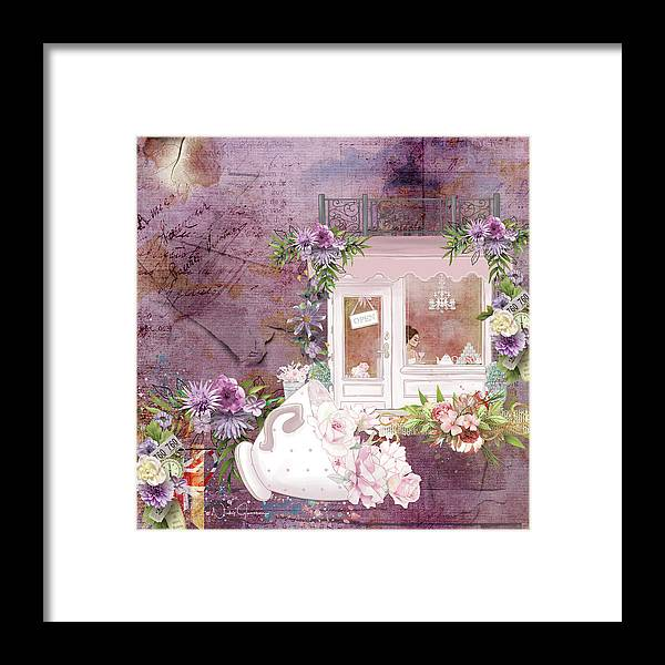Tea Shop Times - Framed Print
