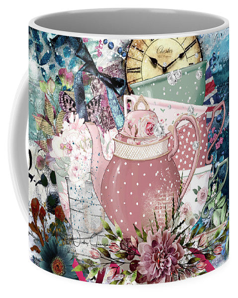 Tea Time Collage - Mug