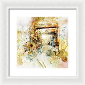 Thames Path-Back In Time - Framed Print