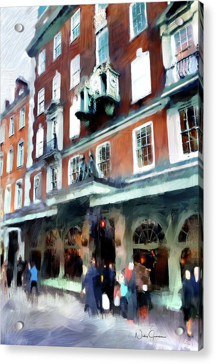 The Grocer - Fortnum And Mason - Acrylic Print