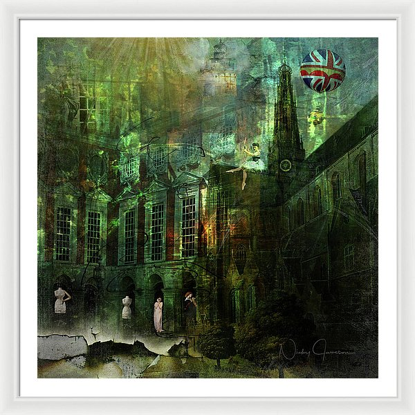 The Landing - Framed Print