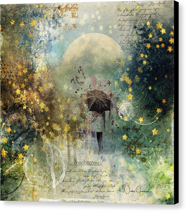 The Stars Fall Down - Canvas Print