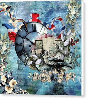 Time For Tea-II - Canvas Print