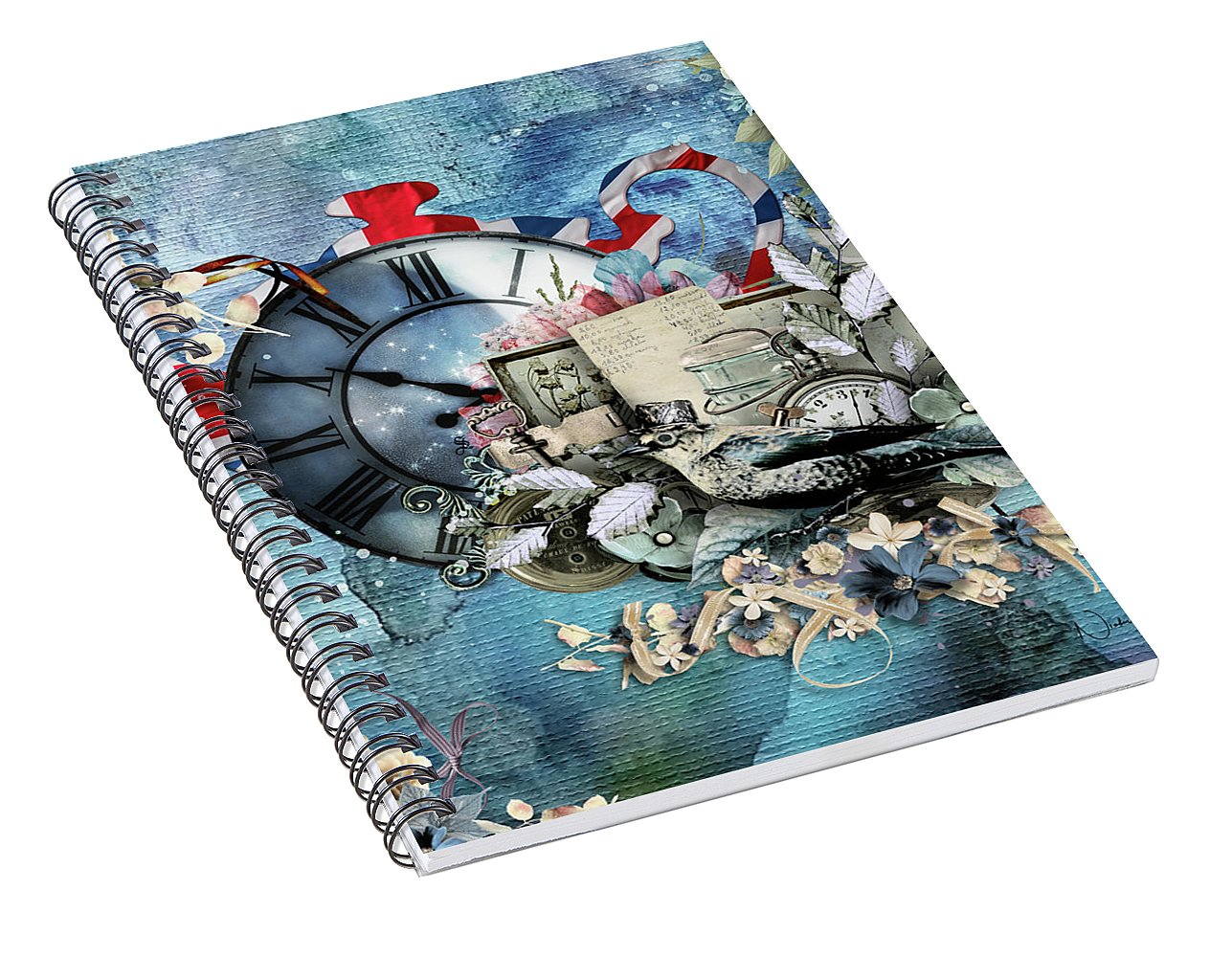 Time For Tea-II - Spiral Notebook
