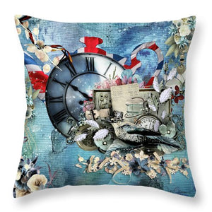Time For Tea-II - Throw Pillow