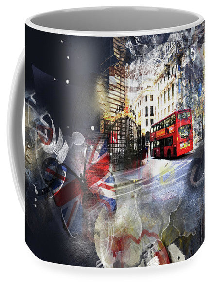 Time To Go - London Mug