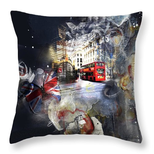 Time To Go - Throw Pillow