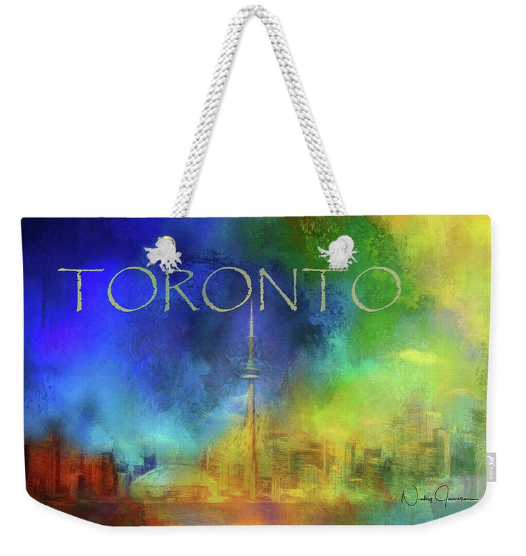 Toronto - Cityscape - Weekender Tote Bag