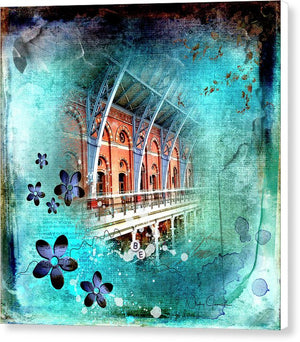 Travelling Times - St Pancras International Station - Canvas Print