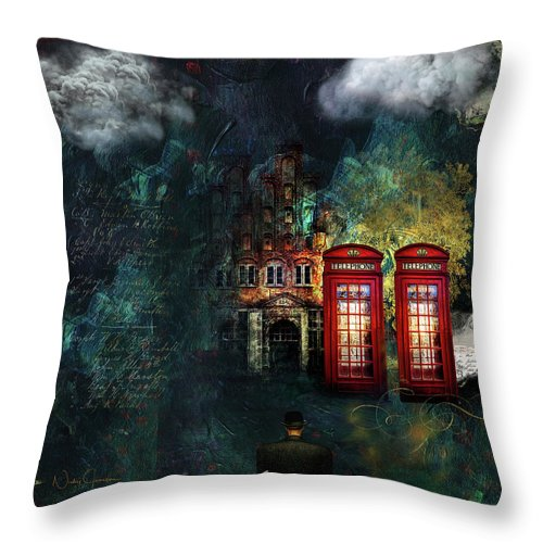 Two's Company - Throw Pillow