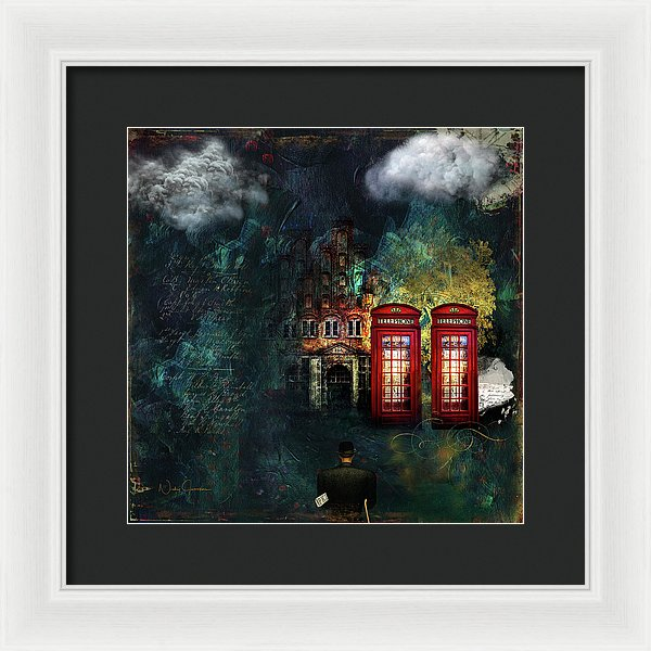 Two's Company - Framed Print