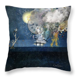 Up In The Clouds - Throw Pillow