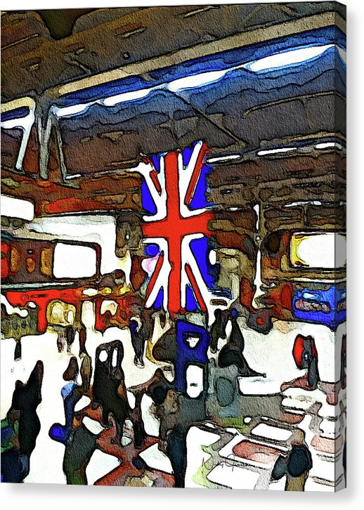 Victoria Station - Canvas Print