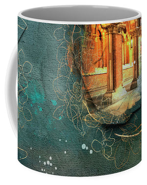 Waterfall - St Pancras International - Mug