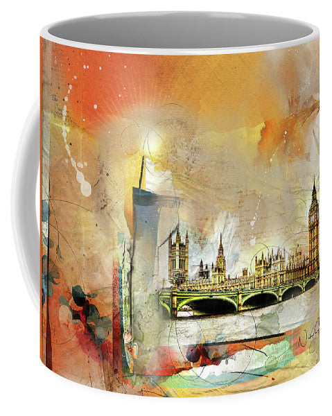 Westminster Bridge - Elizabeth Tower - Big Ben - Mug