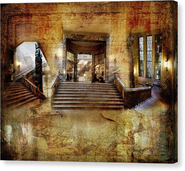 World Of Wonder - Staircase at the ROM Canvas Print