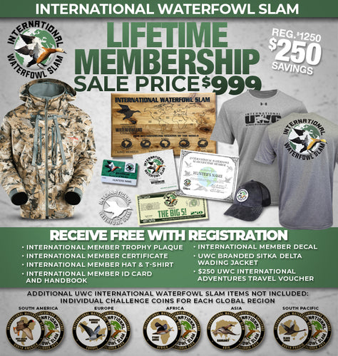 INTERNATIONAL WATERFOWL SLAM MEMBERSHIP
