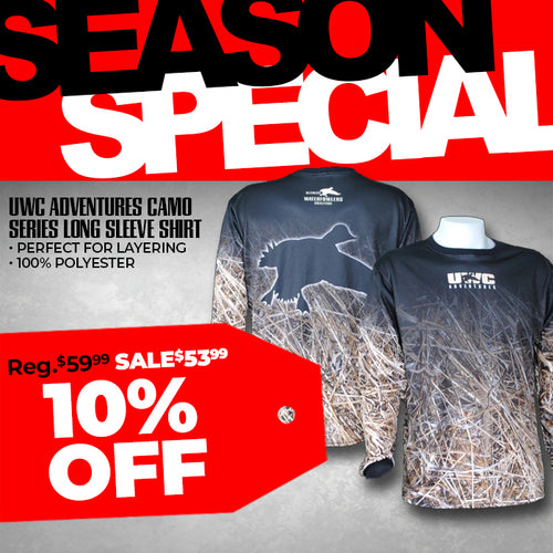 UWC ADVENTURES CAMO SERIES LONG SLEEVE SHIRT