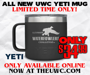 UWC Custom Yeti Rambler 14 oz Mug with Standard Lid