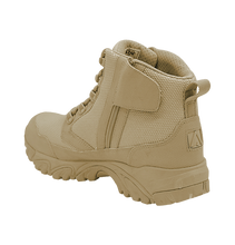 UWC ALTAI™ 6″ Tan Zip Up Work Boots Model: MFM100-ZS