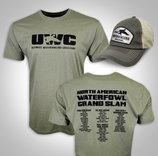 UWC NORTH AMERICAN WATERFOWL GRAND SLAM T-SHIRT & HAT COMBO