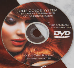 Jolie Color Consultation DVD