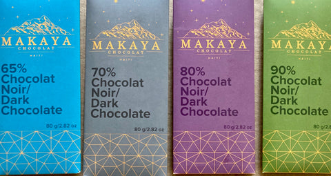 Premium Black Makaya Chocolate