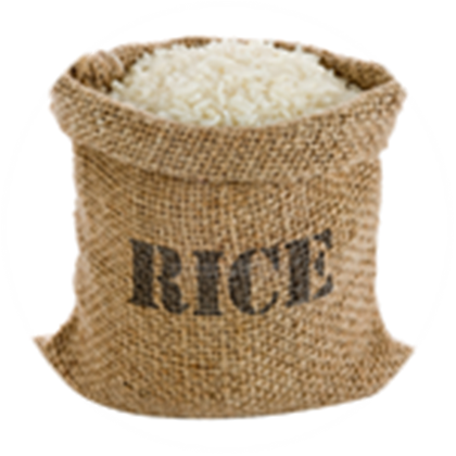 Rice  55 Pounds / LBS - Food