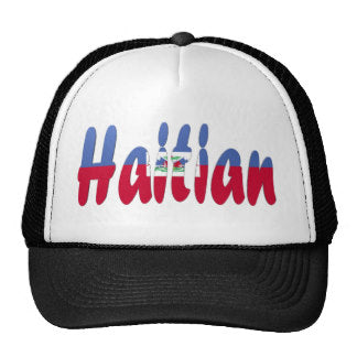 Haitian Flag on Hats