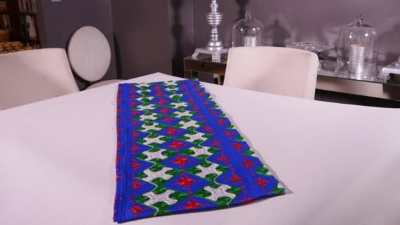 Ghanaian Textile Table Runner (TAB102)