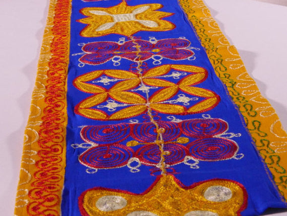 Ghanaian Textile Table Runner (TAB105_lg)