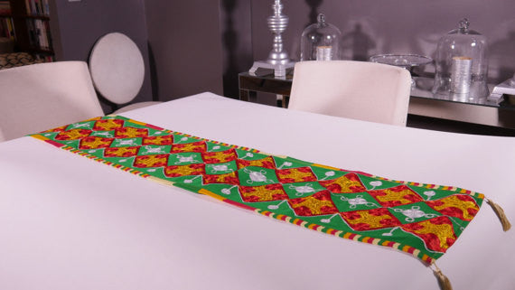 Ghanaian Textile Table Runner (TAB109_xl)