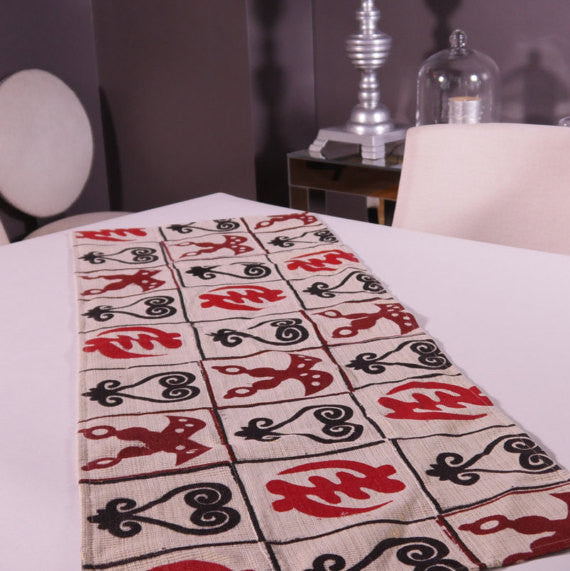 Ghanaian Textile Table Runner (TAB111)