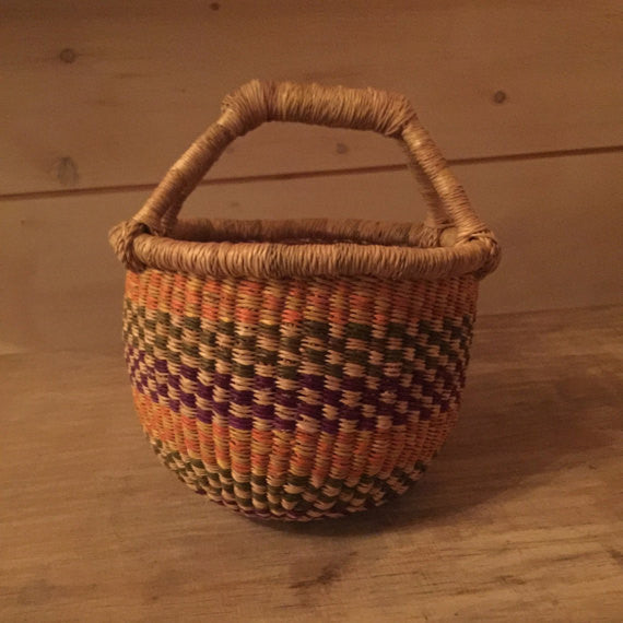 Bolga Mini Basket Multicolor