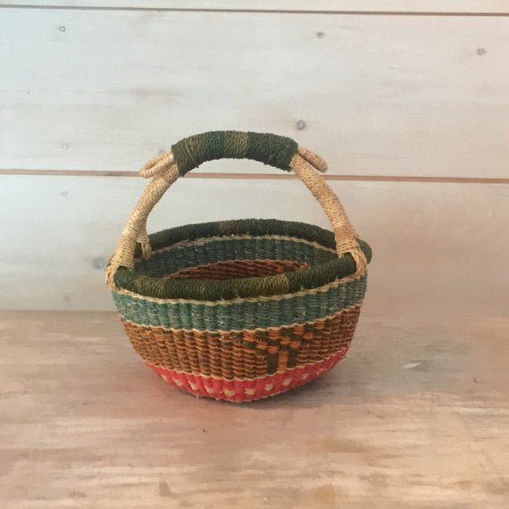 Bolga Mini Basket Multi