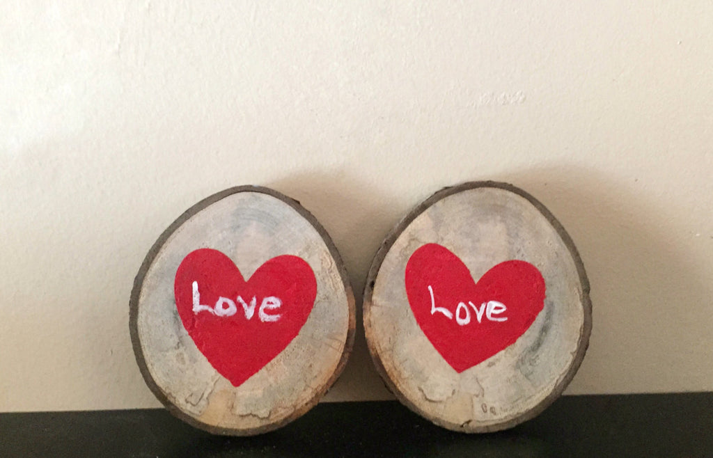 Love Wood Slice