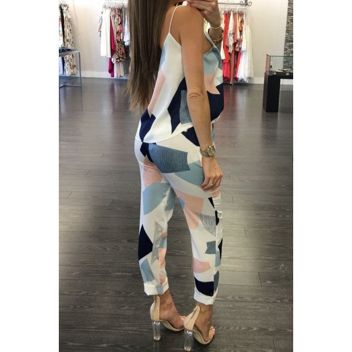 Buy Cotton Sling Two Pieces Jumpsuit online by Fit Miami Style for $25.99