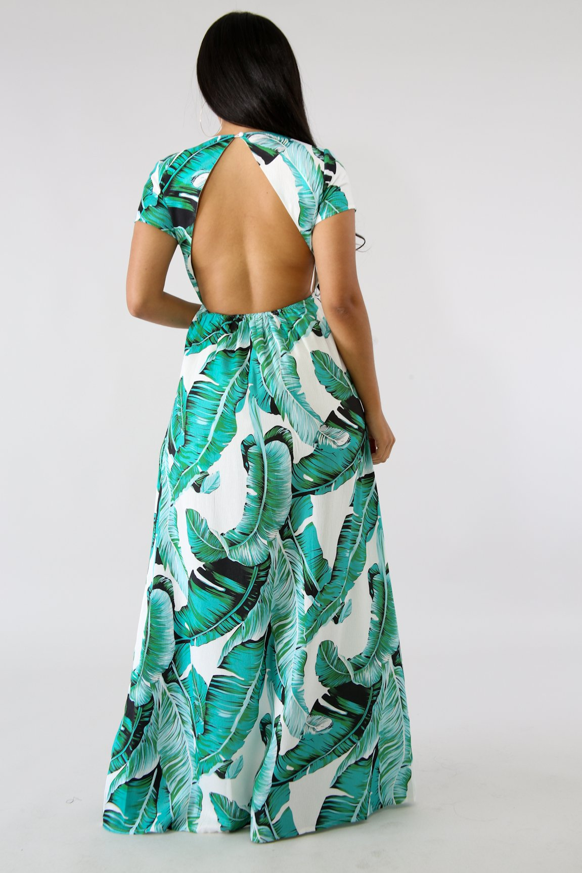 Havana Maxi Dress Fit Miami Style