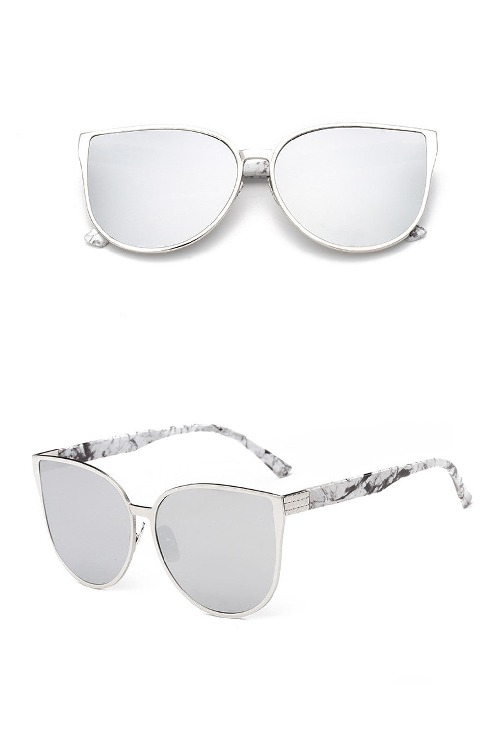 Buy Meguste Cat Eye Women's Sunglasses UV400 online by Fit Miami Style for $13.99
