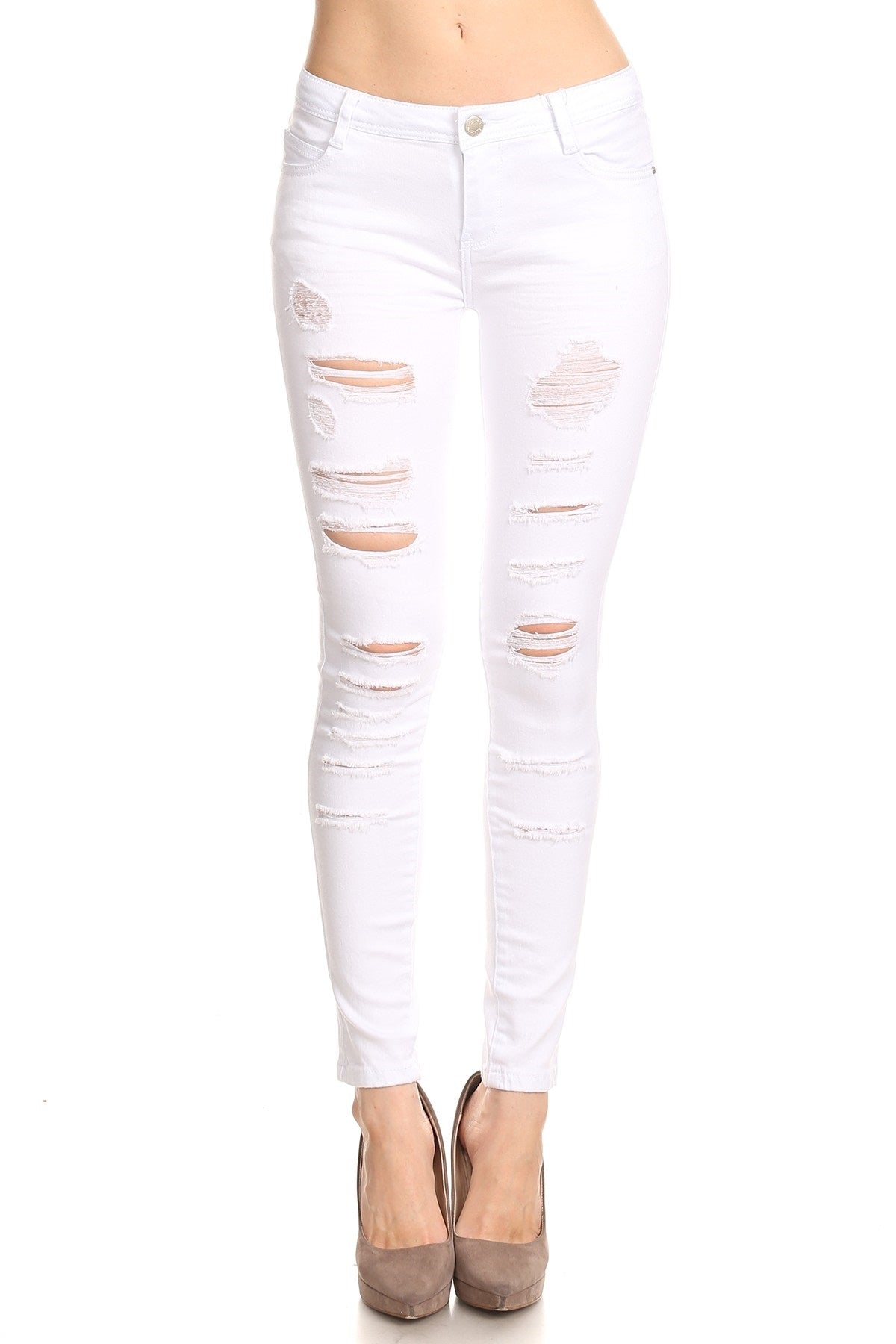 Buy Ripped Slim Fit Jeans online by Fit Miami Style for $34.99