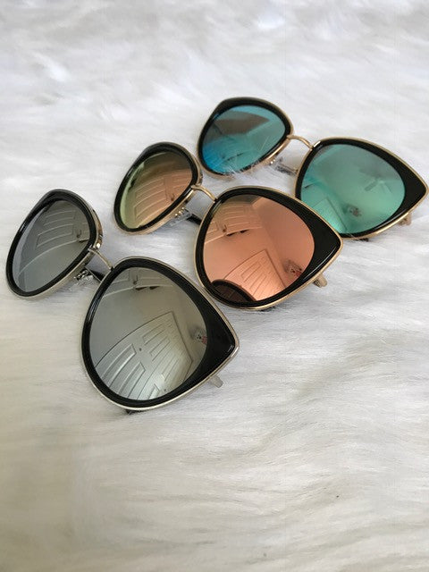 Buy New Cat Eye Women's Sunglasses Vintage UV400 online by Fit Miami Style for $9.99